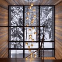 дизайн лестницы в доме современный