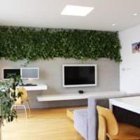 дизайн маленького зала фото идеи