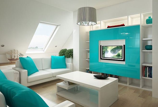 дизайн небольших залов