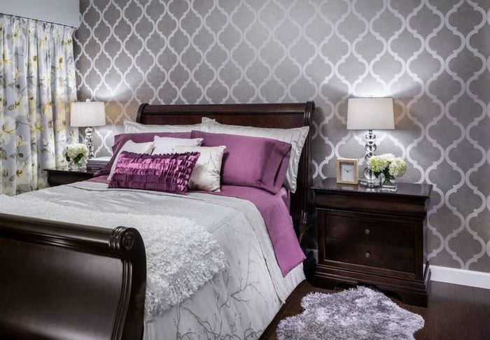приготовить какие обои выбрать для спальни фото обоев дает световой фигуры