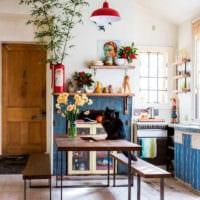 дизайн кухни студии небольшой