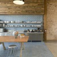 дизайн кухни студии оформление