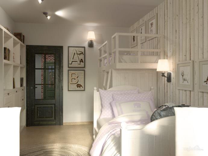 освещение в комнате подростка