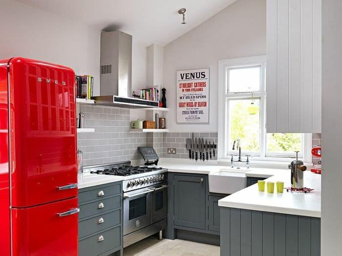 дизайн кухни 5 кв м планировка