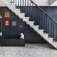 дизайн лестницы на второй этаж