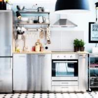 дизайн кухни 3 метра
