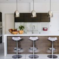 фото дизайн кухня венге