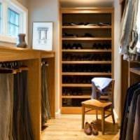 дизайн гардеробной в кладовке