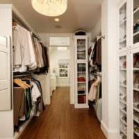 дизайн гардеробной в коридоре