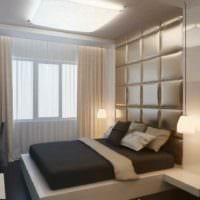 вариант светлого дизайна комнаты 12 кв.м фото