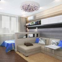 пример красивого стиля комнаты 12 кв.м картинка