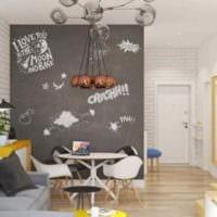 идея светлого стиля комнаты в скандинавском стиле картинка