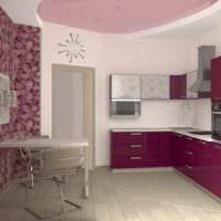 идея необычного декора кухни 12 кв.м картинка