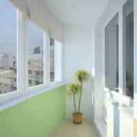фото интерьера маленького балкона