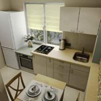 идея необычного стиля кухни 11 кв.м картинка