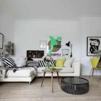 идея красивого дизайна квартиры в скандинавском стиле картинка