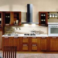 вариант красивого декора кухни в классическом стиле картинка