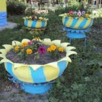 идея красивого дизайна огорода на даче фото