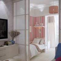 идея необычного дизайна детской комнаты для девочки фото