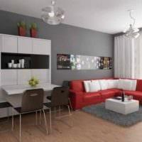 вариант яркого интерьера комнаты 12 кв.м картинка