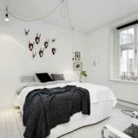 идея яркого стиля квартиры в скандинавском стиле картинка