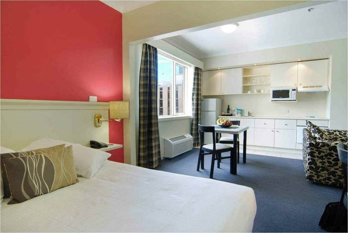 пример красивого декора комнаты 12 кв.м