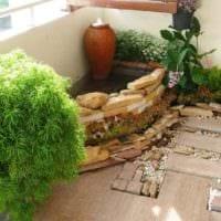 идея применения светлых идей оформления зимнего сада в доме картинка