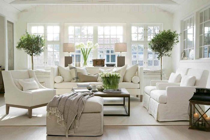 идея применения красивого скандинавского стиля в интерьере