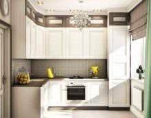 пример красивого интерьера кухни 13 кв.м картинка