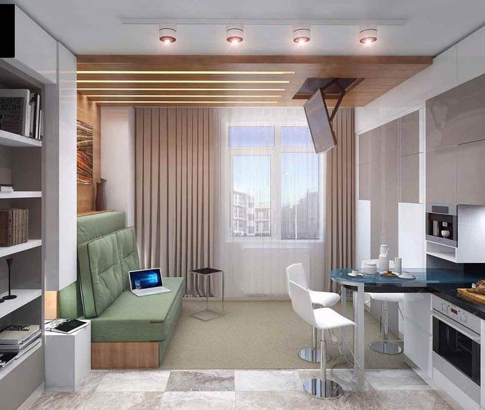 этом заявили фото дизайна квартиры студии одной стороны