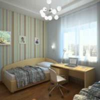 идея необычного интерьера комнаты 12 кв.м картинка
