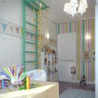 вариант необычного интерьера комнаты 12 кв.м картинка