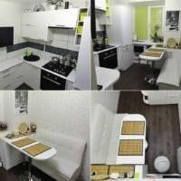идея светлого стиля кухни 12 кв.м картинка