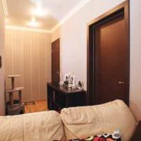идея необычного декора квартиры студии 26 квадратных метров фото
