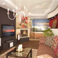 пример красивого стиля гостиной 15 кв.м фото