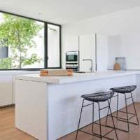 вариант красивого интерьера квартиры в скандинавском стиле фото