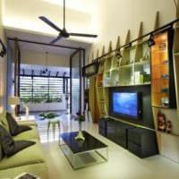 интерьер и дизайн маленького зала