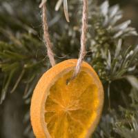 как украсить елку в 2018 году апельсин