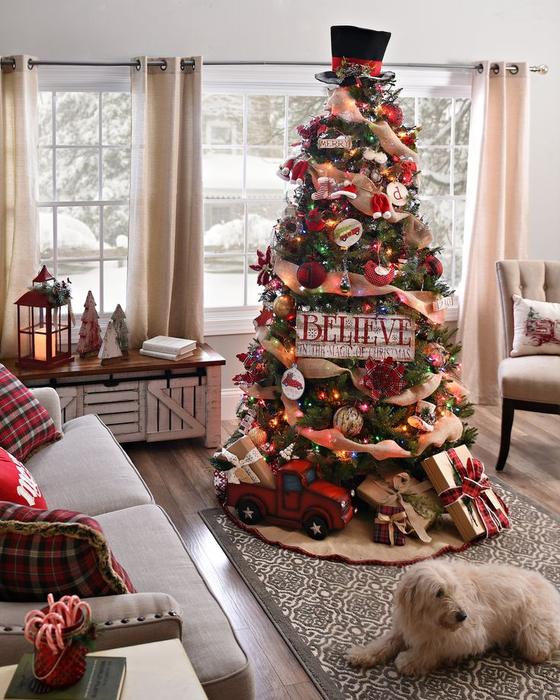 идея для новогодней елки фото ленивый