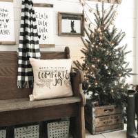 как украсить елку в 2018 году в зале
