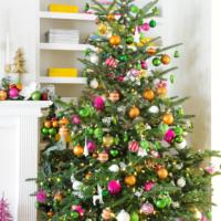 как украсить елку в 2018 году варианты