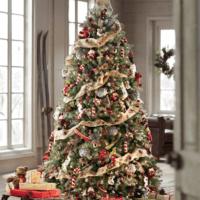 как украсить елку в 2018 году зал