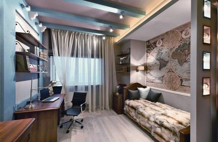 комната для парня подростка