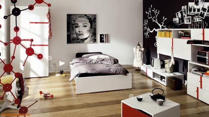 комната для подростка хай тек
