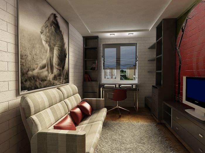 дизайн комнаты для мужчины фото последний