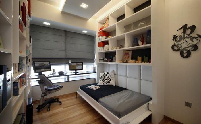 комната подростка дизайн интерьера