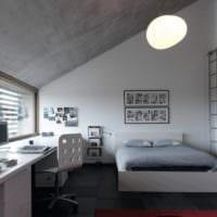 комната для подростка светлый дизайн