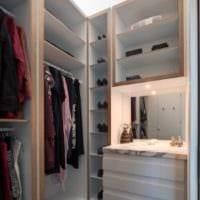 дизайн красивой гардеробной
