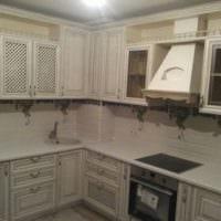 кухни с вентиляционным коробом дизайн