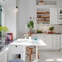 кухни с вентиляционным коробом идеи